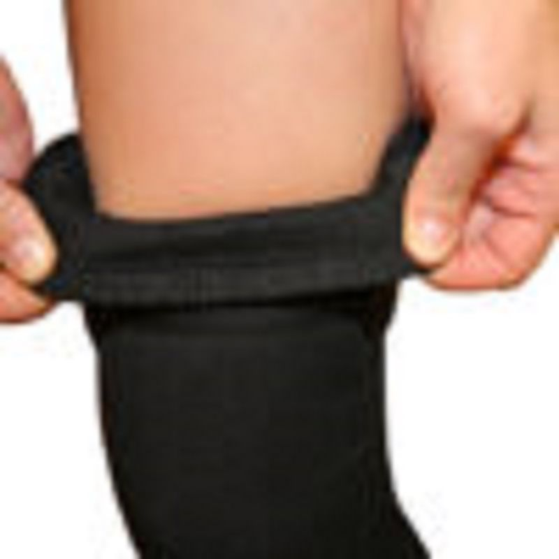 Knee-Brace-with-Strap---Black-X-Large