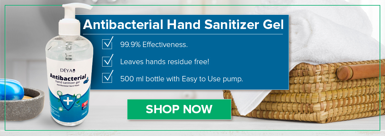 Antibacterial Hand Sanitizer Gel